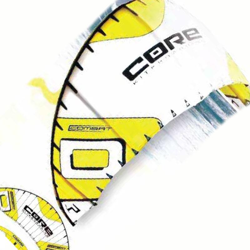 Vorlage für Vektor Extraktion eines Logos von CORE - Kiteboarding Combat