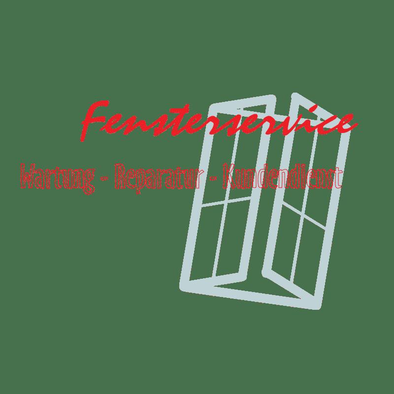 """Schlechte Vorlage eines Firmenlogos für Vektor Extraktion - """"Fensterservice - Wartung - Reparatur - Kundendienst"""""""