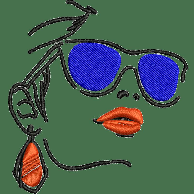 Stickdatei von Sunglasses