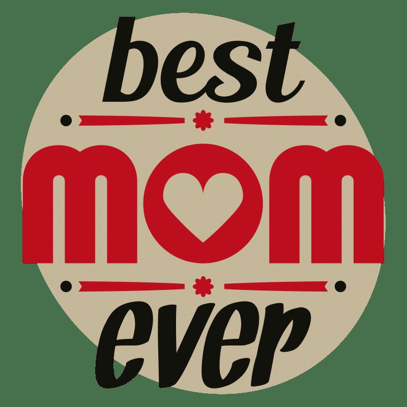 Vorlage für Stickdatei von Best Mom Ever