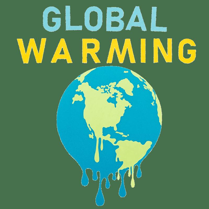 Vorlage für Stickdatei von Global Warming