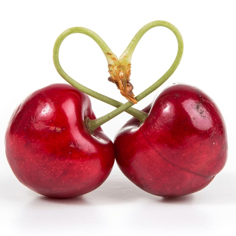 Vorlage für Herzkirschen