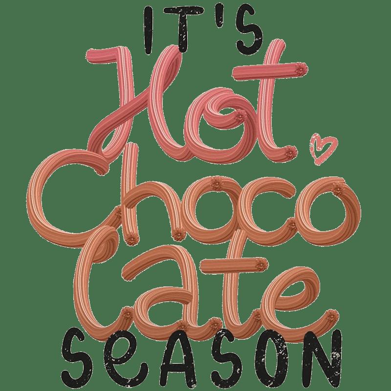 Vorlage für Stickdatei von Hot Chocolate Time