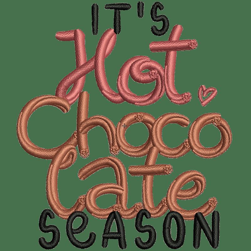 Stickdatei von Hot Chocolate Time