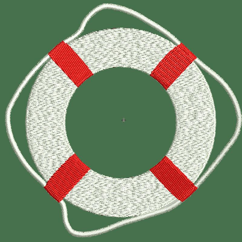 Stickdatei von Rettungsring