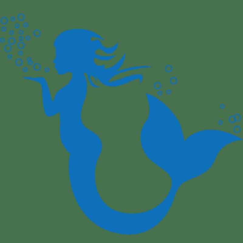 Vorlage für Stickdatei von Little Mermaid