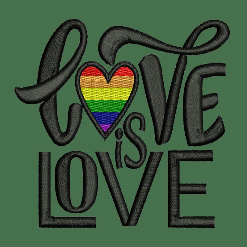 Vektorgrafik von Love is Love