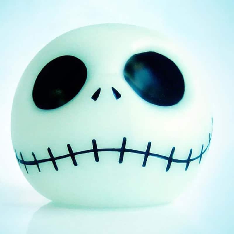 Vorlage für Stickdatei vom Glubschgeist Halloween