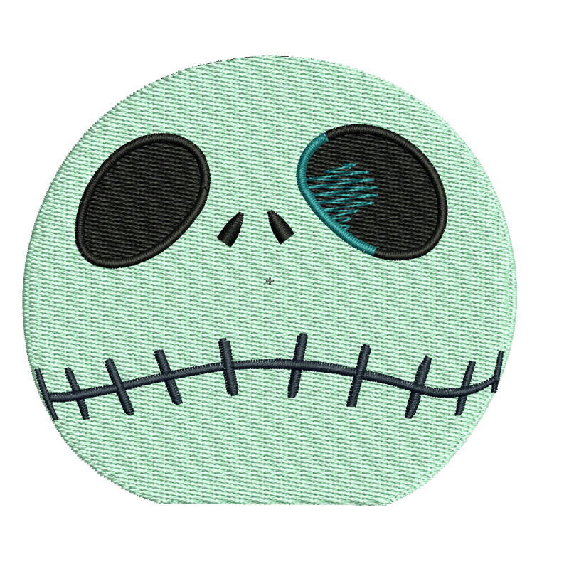 Stickdatei vom Glubschgeist Halloween