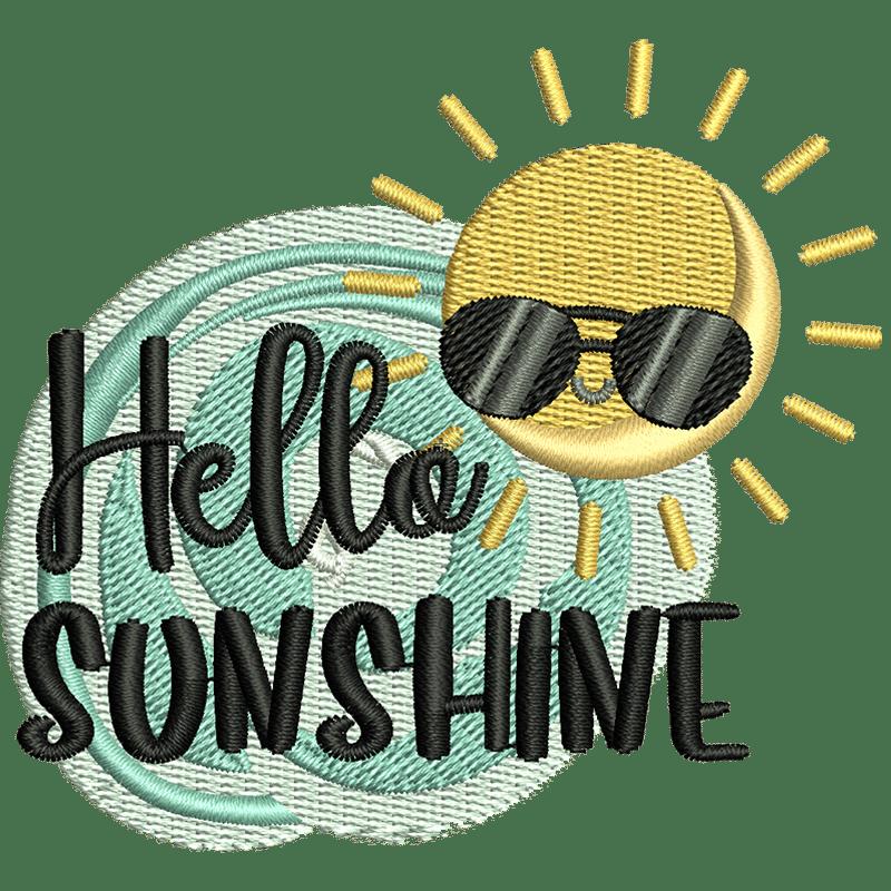 Stickdatei von Hello Sunshine