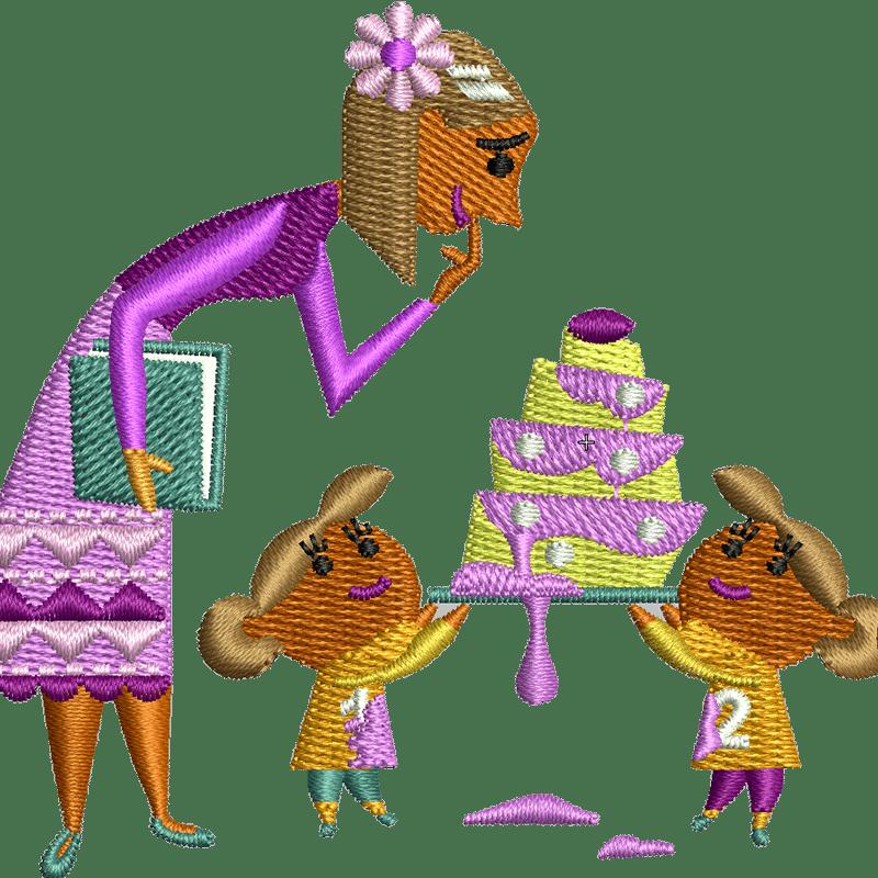 Stickdatei von Muttertag