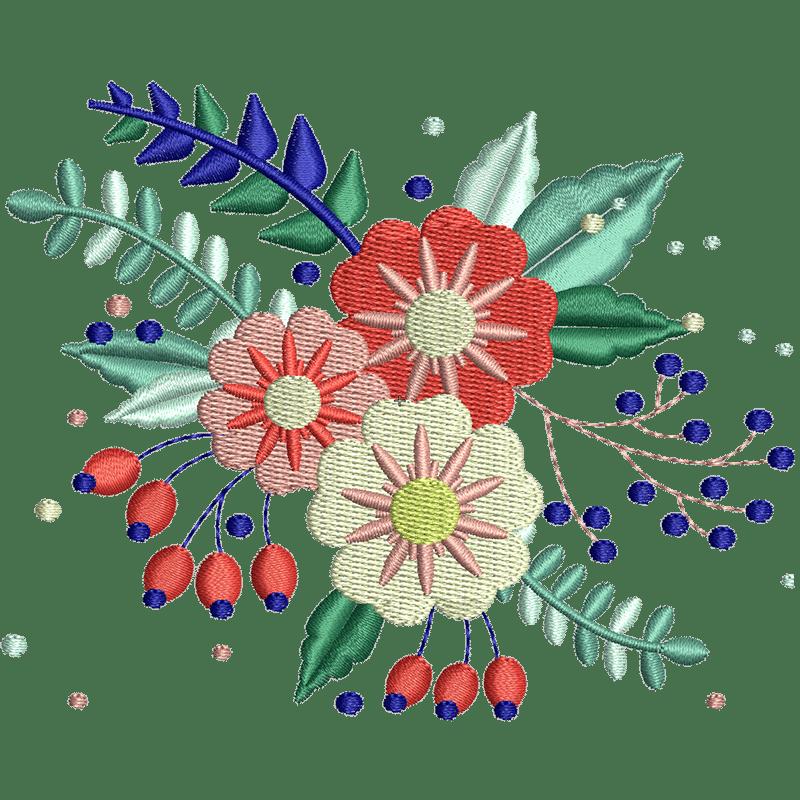 Stickdatei von Summer Flowers