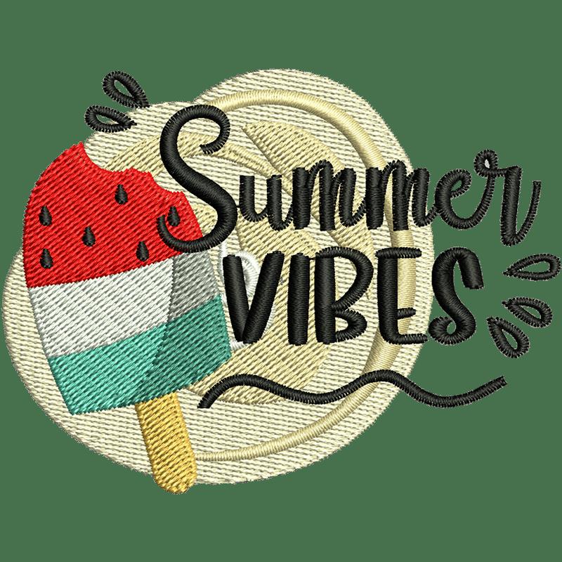 Stickdatei Summer Vibes