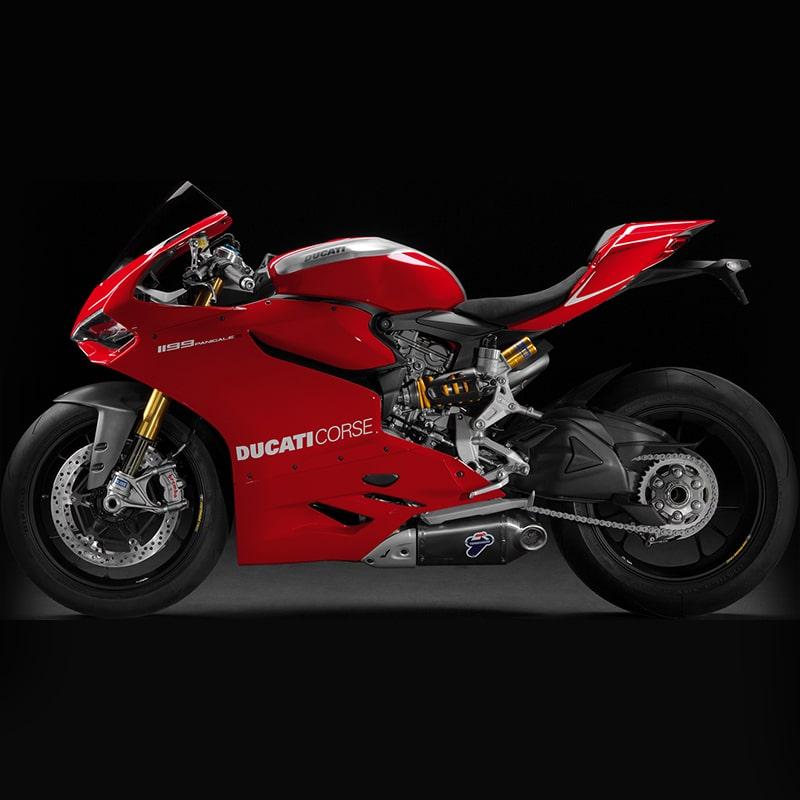 Vorlage für Stickdate von Ducati Corse
