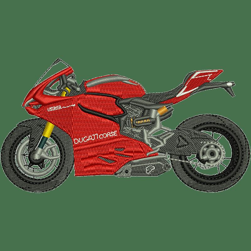 Stickdatei von Ducati Corse