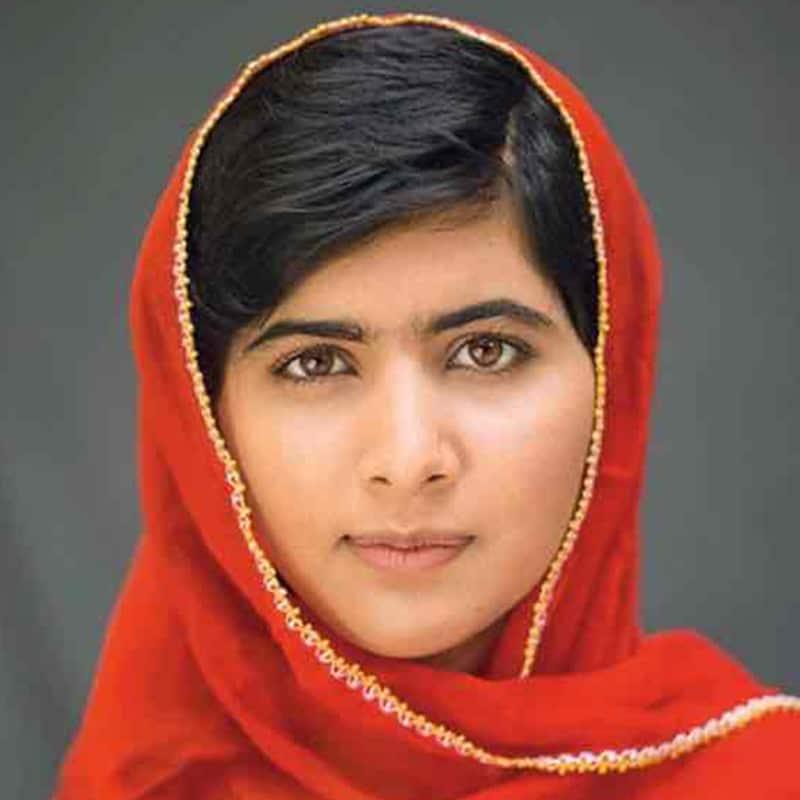 Vorlage für Vektorgrafik von Malala Yousafzai