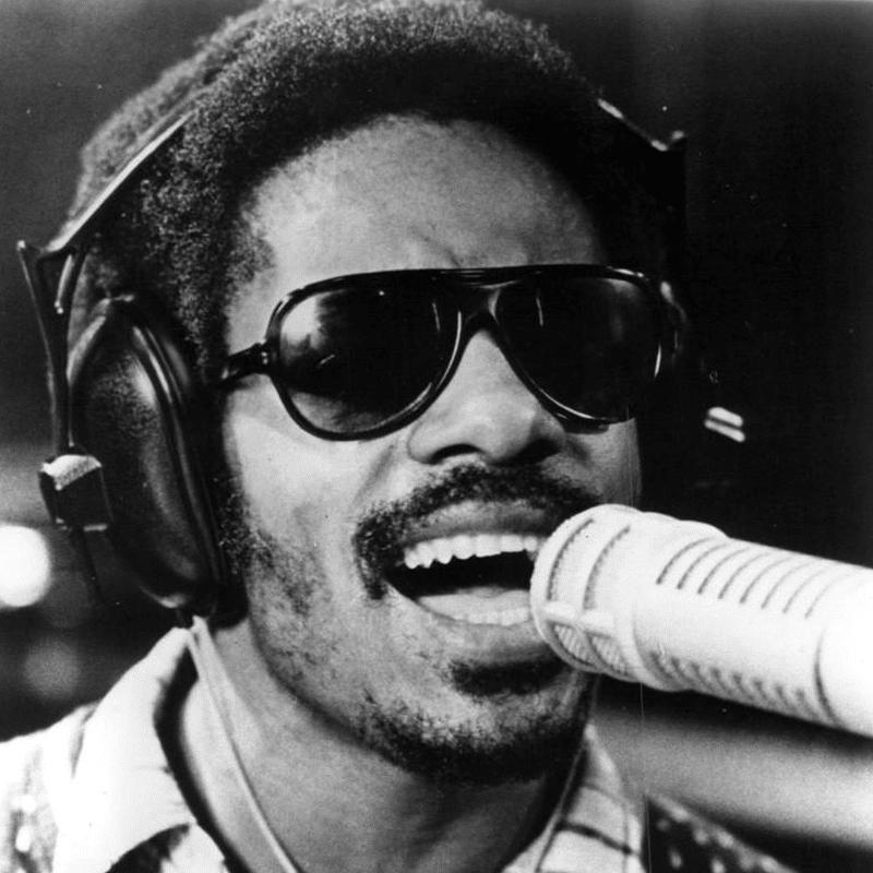Vorlage für Vektorgrafik von Stevie Wonder