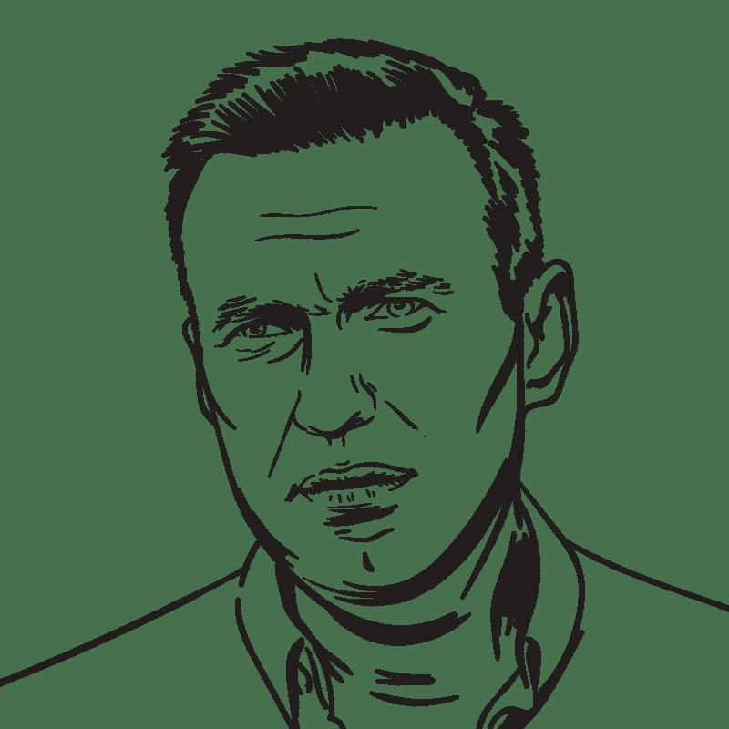 Vektorgrafik von Alexei Nawalny