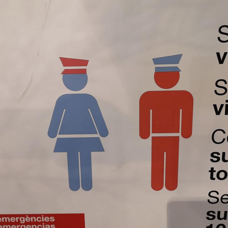Vorlage für Vektorgrafik von Spanish Beach Patrol