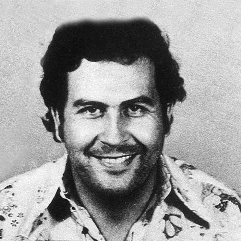 Vorlage für Vektorisierung von Pablo Escobar