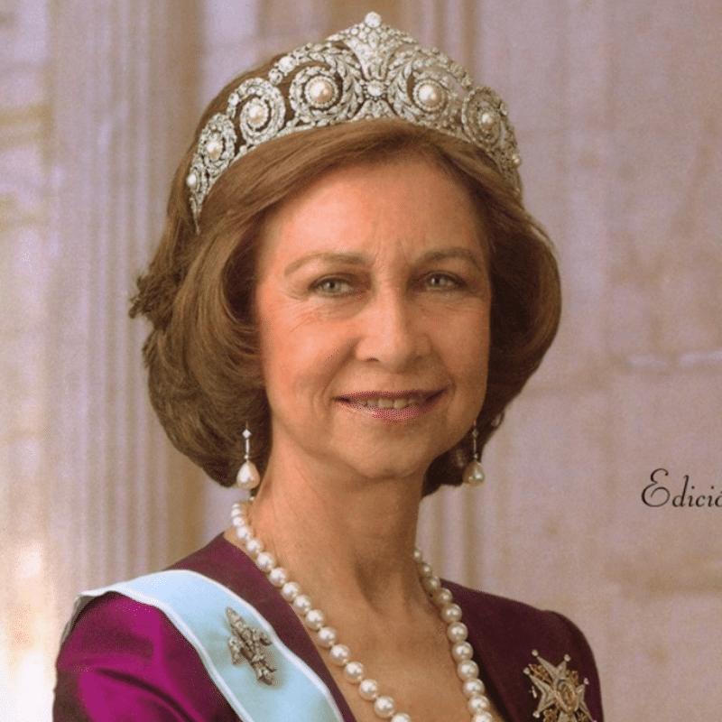 Vorlage für Vektorisierung von Reina Sofia
