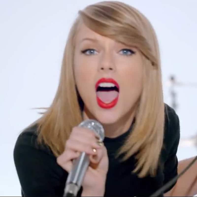 Vorlage für Vektorgrafik von Taylor Swift