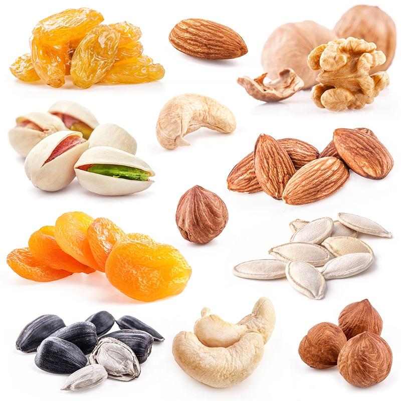Vorlage für Vektorgrafik von Dryfruit